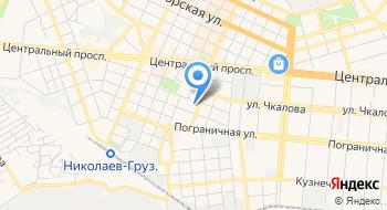 Ремонт квартир в Николаеве на карте