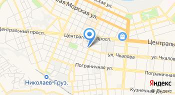 Николаевская таможня ГФС на карте