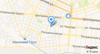 Николаевский академический украинский театр драмы и музыкальной комедии на карте