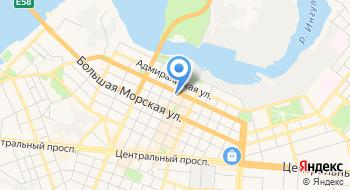 Главное управление ГФС в Николаевской области на карте