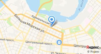 Николаевский областной центр занятости на карте
