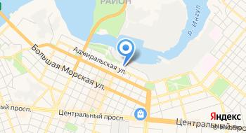 Николаевская Областная Государственная Администрация на карте