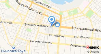 Федерация подводной деятельности и спорта Николаевской области на карте