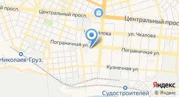Николаевское высшее училище физической культуры на карте