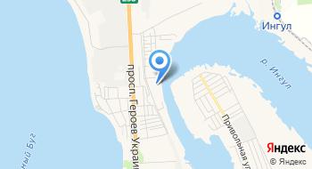 Государственное учреждение Территориальное медицинское объединение Министерства внутренних дел Украины по Николаевской области на карте