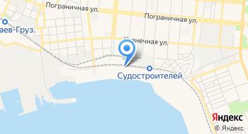 Николаевский филиал государственного предприятия Администрация морских портов Украины администрации Николаевского морского порта на карте