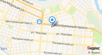 Главное управление Государственной Казначейской службы Украины в Николаевской области на карте