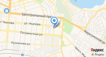 Николаевская областная филармония на карте