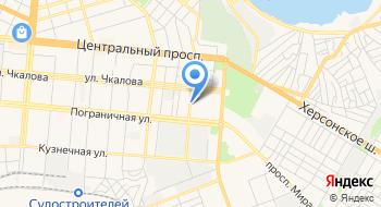 Николаевский ремонтно-монтажный комбинат на карте