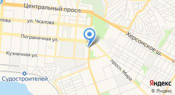 Автовокзал Николаев на карте