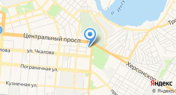 Администрация Ингульского района Николаевского городского совета на карте
