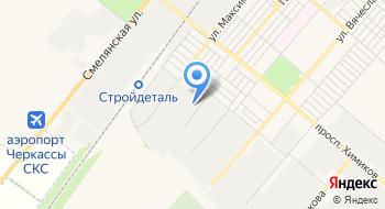 Украинская горно-металлургическая компания на карте