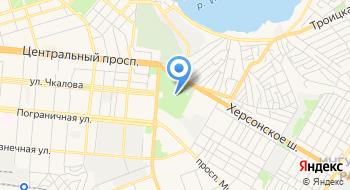 Николаевский зоопарк на карте