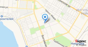 Николаевская специализированная школа Академия детского творчества на карте