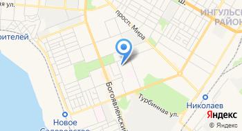 Детско-юношеская спортивная школа № 1 на карте