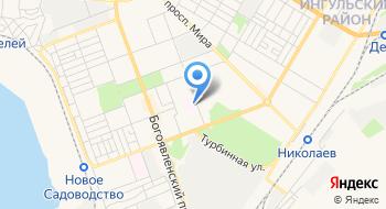Николаевская областная детская больница на карте