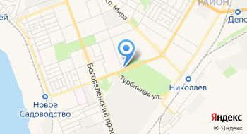Ленинский районный суд г. Николаева на карте