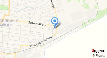 Жовтневый участок службы эсплатации систем газснабжения Николаевского отделения на карте