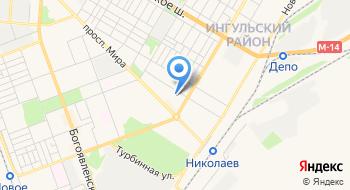 Украинский интерне-магазин мебели Nikmebel.com на карте