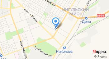 Кафе-бар Украиночка на карте