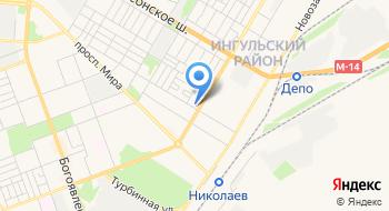 Натяжные потолки Николаев на карте