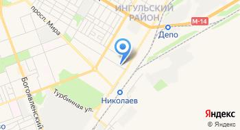 Николаевская база Стройматериалов на карте