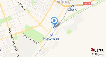 Управление патрульной полиции в г. Николаеве на карте