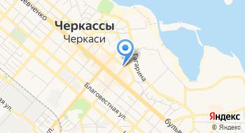 Черкасский академический театр кукол Черкасского областного совета на карте