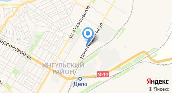 ТД Кампус Коттон Клаб Николаевский филиал на карте