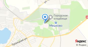 Николаевский детский туберкулёзный санаторий Дубки на карте