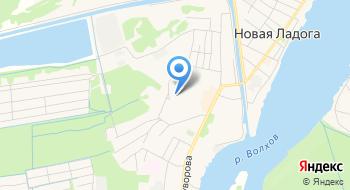 Мобу Новоладожская средняя общеобразовательная школа №2 на карте