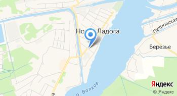 Администрация Новоладожского городского поселения Волховского муниципального района на карте