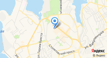 Бассейны Крыма на карте