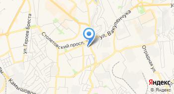 Бассейны Крым на карте