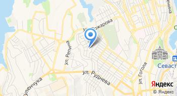 Коммунальное высшее учебное заведение Севастопольский медицинский колледж имени Жени Дерюгиной на карте