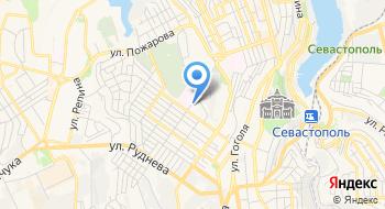 Крымское МУГАДН федеральной службы по надзору в сфере транспорта, территориальный отдел на карте