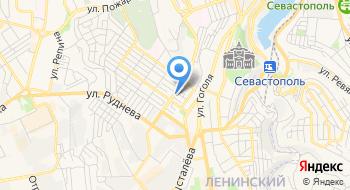 Отдел пенсионного фонда в Ленинском районе города Севастополь на карте