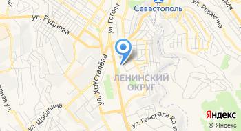 Сеть танцевальных судий Ахтиар. Филиал Острякова на карте
