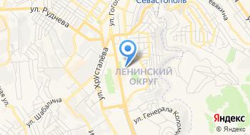 Ритуал Севастопольского комитета ветеранов войны на карте