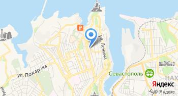 Единая Дежурно-диспетчерская Служба Севастополя на карте