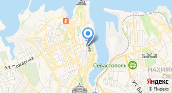 Севастопольский индустриально-педагогический колледж на карте