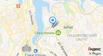 Фуражечная мастерская Севастополь на карте