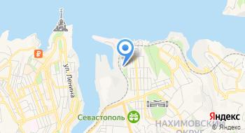 ПФР, Отдел Пенсионного фонда Российской Федерации в Нахимовском районе г. Севастополя без образования юридического лица на карте