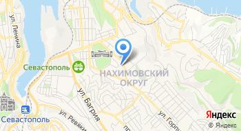Пассажирские перевозки Крым-Украина-Крым на карте
