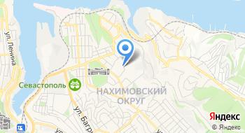 Берега Крыма на карте