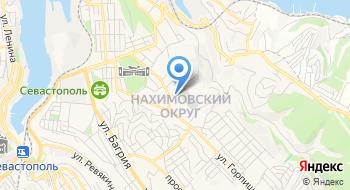 Фабрика мужского костюма Севастополя Нина Онилова на карте