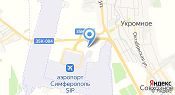 Филиал Крымаэронавигация на карте