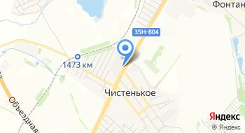 Памятники в Чистеньком на карте