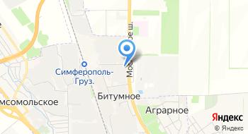 Татарстан-Крым на карте