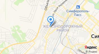 Школа-детский сад  муниципального образования городской округ Симферополь Республики Крым на карте